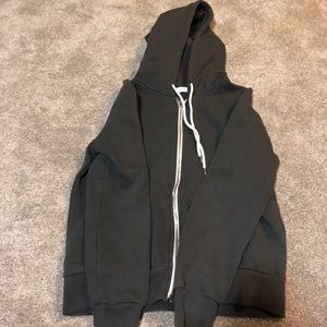 ***worn once*** forever 21 zip up sweatshirt